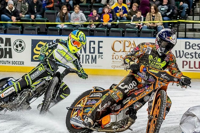 Xtreme International Motorcycle Ice Racing features super high-performance motorbikes racing in hockey rinks from 0 to 60 mph in less than three seconds and without brakes. The league will race from 7:30 to 10 p.m. Friday, Feb. 13 at Kay Yeager Coliseum. Tickets start at $7.50. Contact wfmpec.com or (940) 716-5555 for more information.