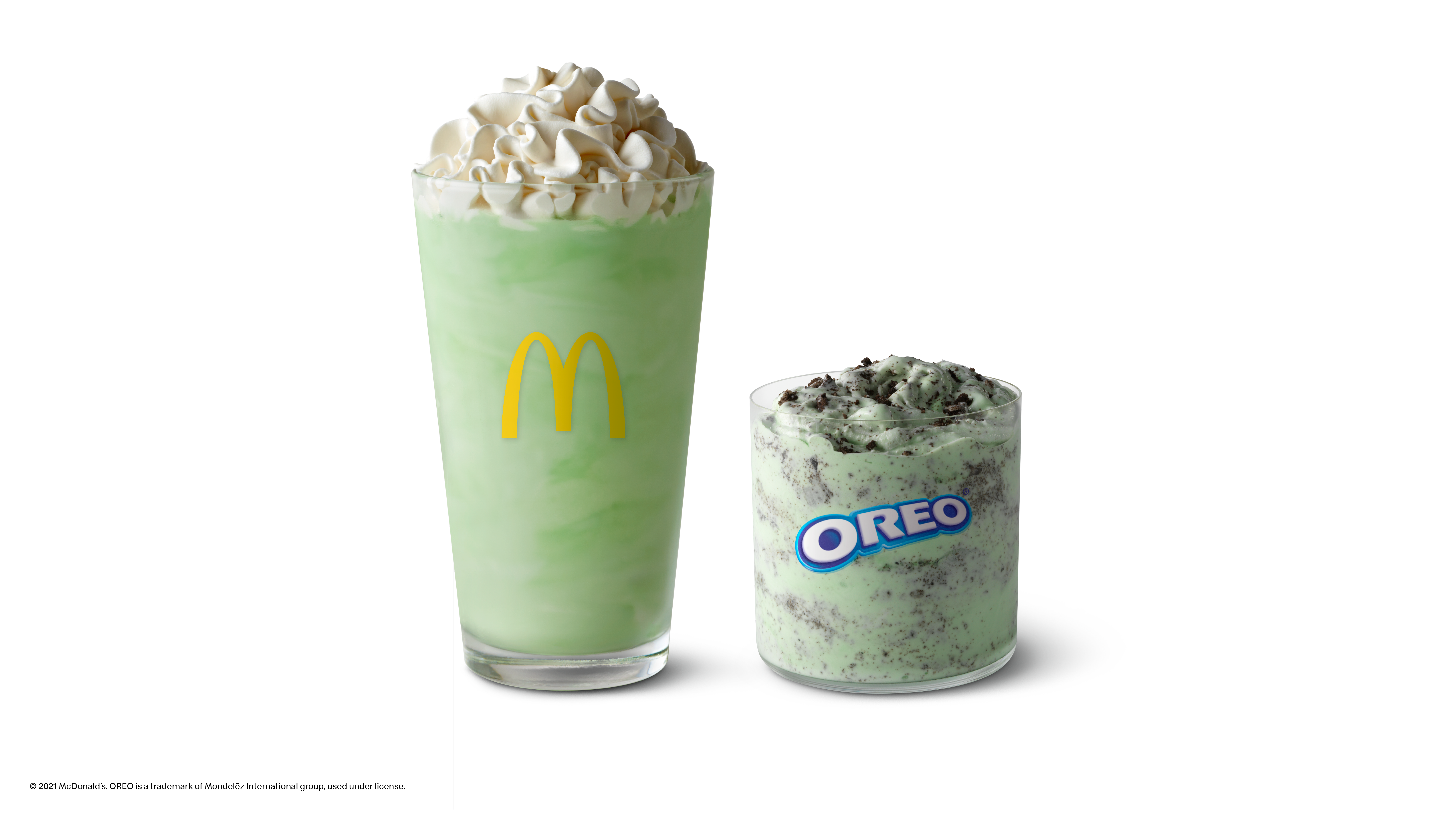 McDonald's Shamrock Shake is coming back. Here's when you can get one and the Oreo Shamrock McFlurry