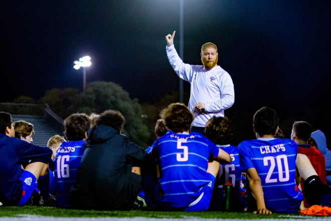Westlake Chaparrals head coach James Baker lead his team to two shutout wins in the first two matches of District 26-6A play. The Chaps defeated Del Valle 2-0 and San Marcos 4-0.