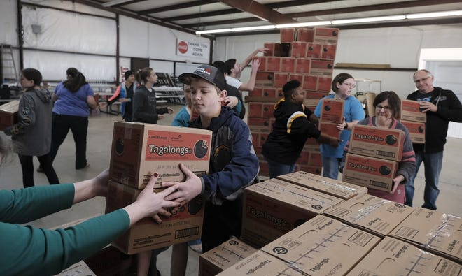 Girl Scout cookie booths open Feb. 12 across the country. In addition to booths and online orders, Girl Scouts are partnering with GrubHub to safely deliver cookies.