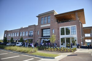 The Plaza at Evans Towne Center in Evans is expected to house Roll On In Sushi Burritos & Bowls and Buzzed Bull Creamery in the summer of 2021.