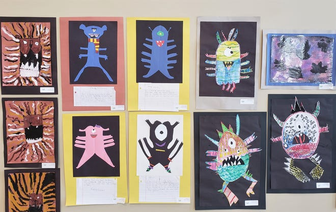 Art work by students from North Augusta schools will be on display at the North Augusta Arts and Heritage Center from Feb. 18 through March 11.