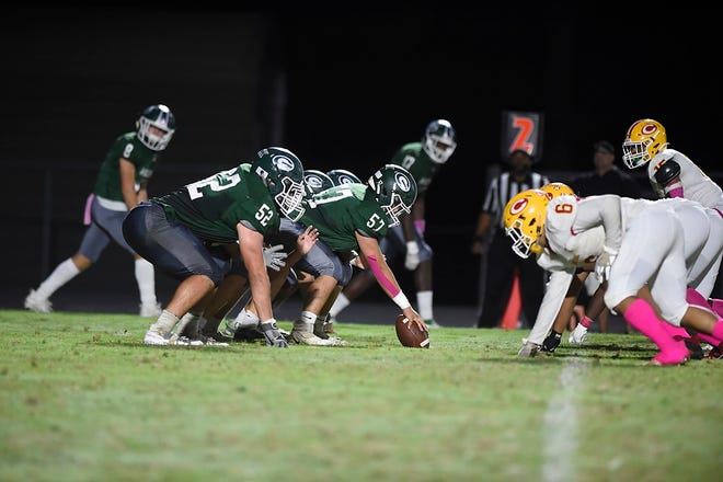 Greenbrier's football and wrestling programs share a symbiotic relationship that allows athletes from both teams to excel. Defensive standouts Beau Shugarts, Dakota Williamson and Caleb Reining have been competing on the mat since middle school and have eyes on a state title.