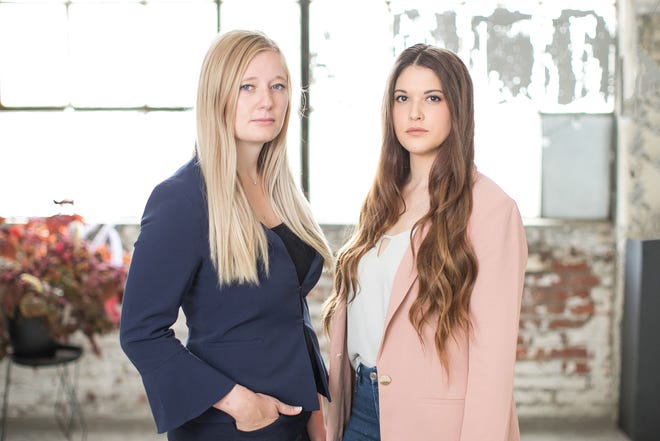 Ikonos Analytics founders Allie Dauterman, left, and Rehgan Avon