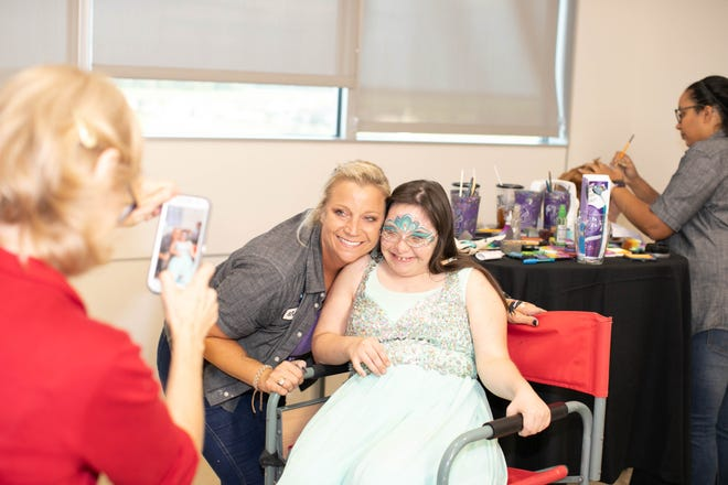 Upside Downs, Inc. hosts a recent charitable event.