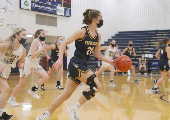 Emma Borowicz led the Crookston girls' basketball team averaging 14.5 points per game this season.