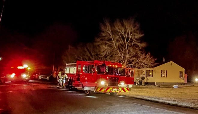 Monday evening, the fire department responded to a house fire on Washburn Street in Lexington.