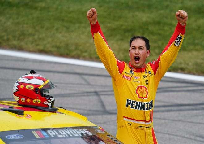 NASCAR champ Joey Logano will race at Volusia Speedway Park.