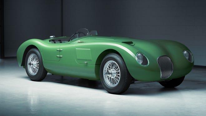 Jaguar Classic's new C-type Continuation.