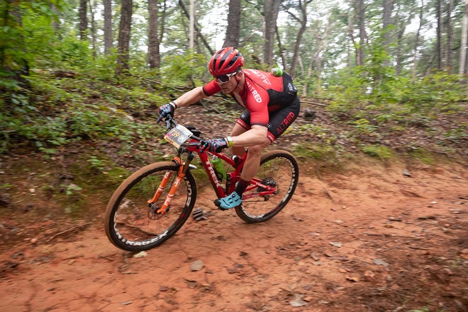 Todd Hatfield, a competitive endurance mountain bike racer, is a heart disease survivor.