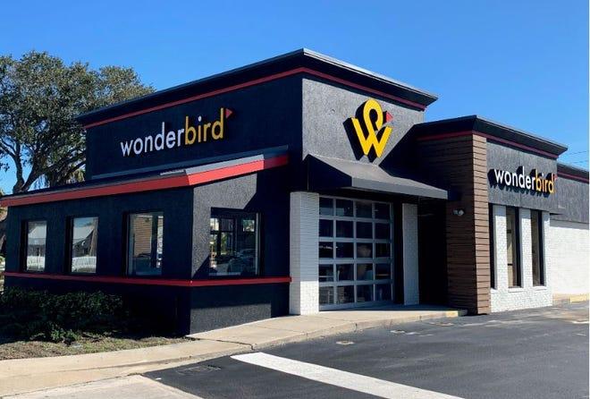 Wonderbird opened its first fast-food Northeast Florida chicken restaurant Tuesday at 528 Beach Blvd. in Jacksonville Beach. It also was the first Wonderbird in Florida.
