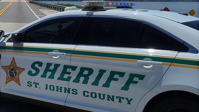 St. Johns County Sheriff's Office cruiser.