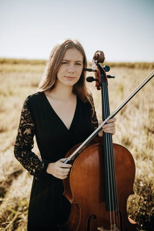 Orion High School senior Lily Moen was selected for the Illinois Music Education Association's senior orchestra in 2021.