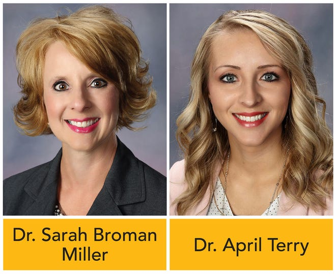 FHSU's Dr. Sarah Broman Miller and Dr. April Terry lead the inmate literacy project