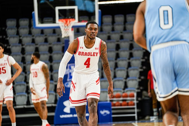 Bradley guard Terry Nolan Jr. ran into a determined Indiana State defense that game-planned to stop him in its sweep of the Braves at Hulman Center in Terre Haute, Ind.