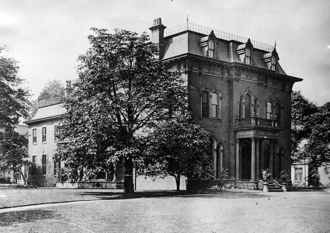 The home of John D. Rockefeller, the most famous resident of Cleveland's Millionaires' Row.