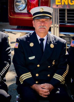 Retired Millbury Assistant Fire Chief Francis B. King