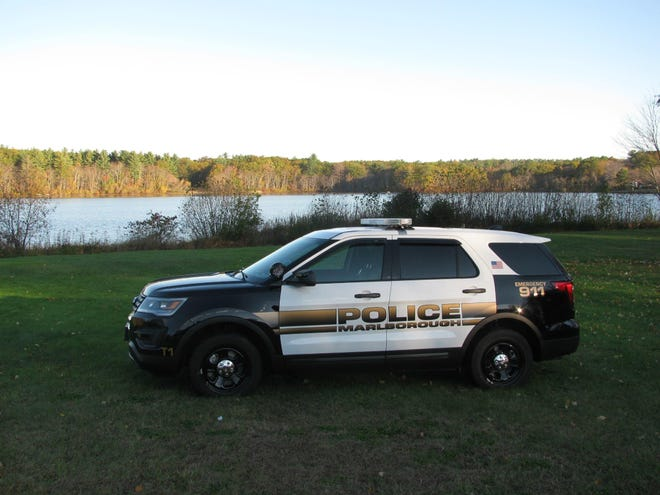 Marlborough police say a local man became unruly while he was taken into custody Saturday night.