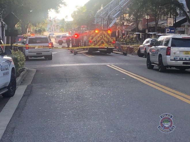 Emergency responders were called to a structure fire in the 1300 block of Main Street on Tuesday, Feb. 2, 2021.