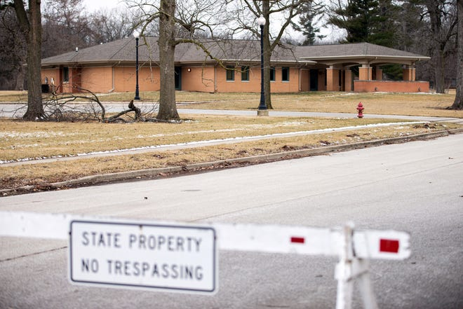 The Illinois Department of Juvenile Justice announced plans for the new Illinois Youth Center that will use a portion of the Lincoln Development Center grounds in Lincoln, Ill., Tuesday, February 2, 2021. [Justin L. Fowler/The State Journal-Register]