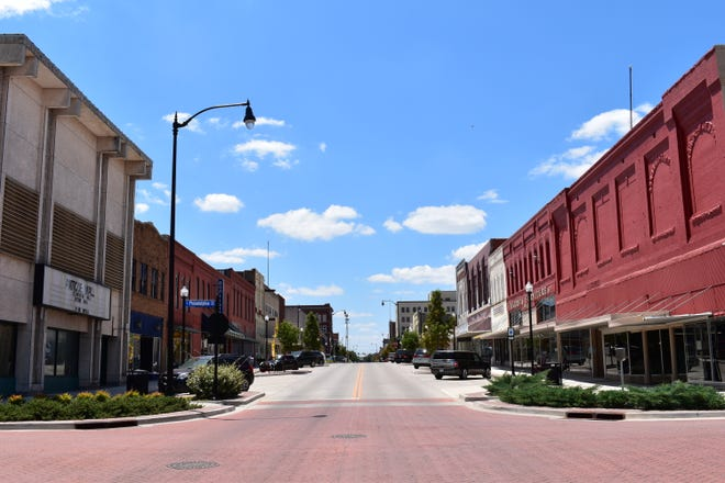 Downtown Shawnee.