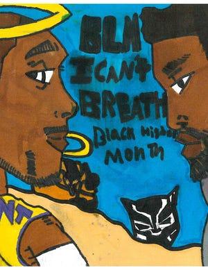 UScellular'sBlack History Month art contest with Brigade Boys & Girls Club.