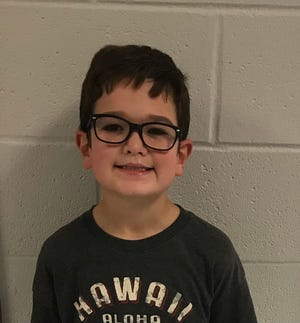 Ryan McGrady of Surf City Elementary is Pender County Schools' Student of the Week.