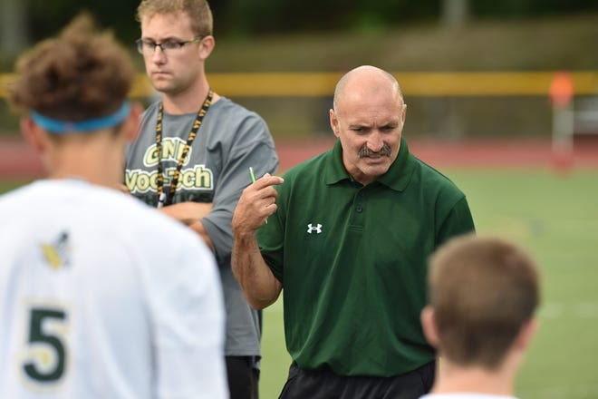 Henry Andrade announced his retirement after 14 years as GNB Voc-Tech's boys soccer head coach.