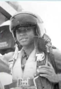 Captain Adam Mattock in 1961
