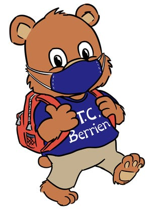 The mascot at T.C. Berrien Elementary School is known as Berrien Bear. [Contributed photo]