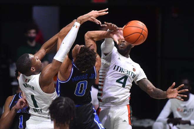 2021 Duke Men's Basketball @ Miami Hurricanes