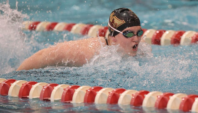 New Albany senior Sydney Boals, a Florida State recruit, is trying to become a five-time state qualifier. She competed at state three times in New York before reaching the meet last year with the Eagles.
