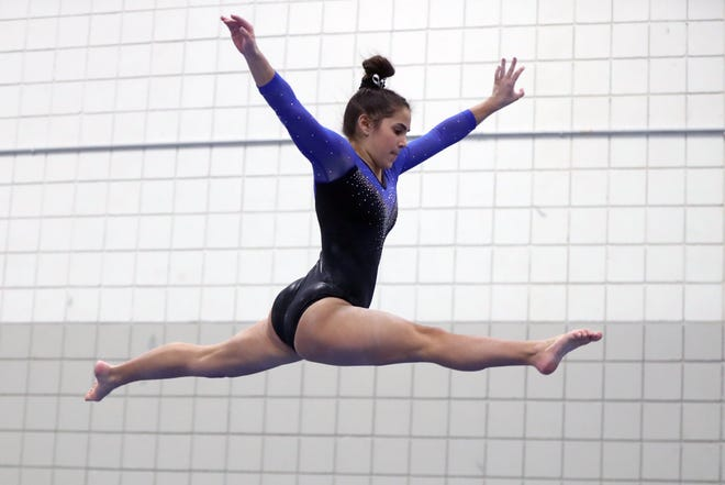 Emily Mosic has been one of Kilbourne's top competitors. In the team's home invitational Jan. 23, Mosic placed third on vault, fourth on uneven bars, floor exercise and the all-around and fifth on balance beam.