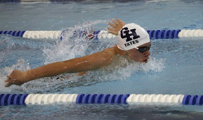 Grandview's Blake Yates won the 100 butterfly and placed secondin the 200 freestyle in the MSL-Ohio meet. The Bobcats compete in a Division II sectional Feb. 13 at Upper Arlington.