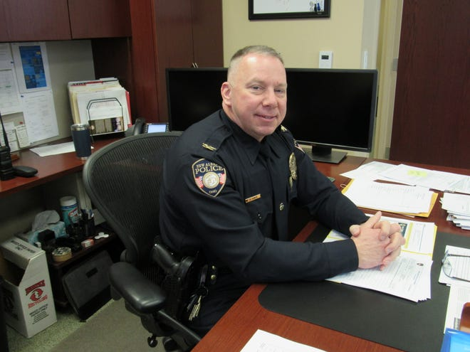 Chief Greg Jones and the New Albany Police Department are poised to add a new command position, a lieutenant, later this year.