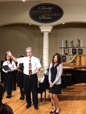 Dr. Rand Certain offers in-person and online piano and violin instruction in the Van Alstyne area.
