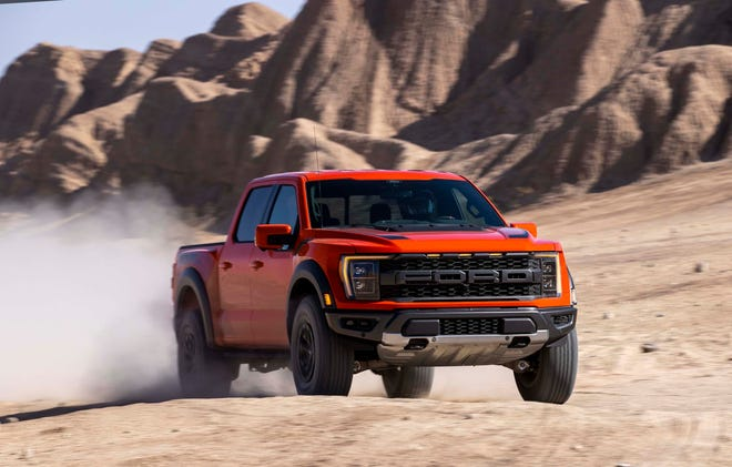 2021 Ford F-150 Raptor is Baja 1000 race inspired.