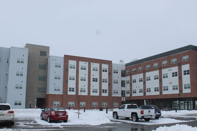 Terra State Community College is looking at increasing the Landings at Terra Village's maximum capacity to 325 students over the next several years. The on-campus dorm now houses up to 197 students.