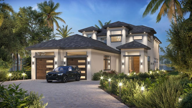 Award-winning Theory Design is creating the interior design for Seagate Development Group's new furnished Monterey II model that is under construction in the Isola Bella neighborhood at Talis Park.