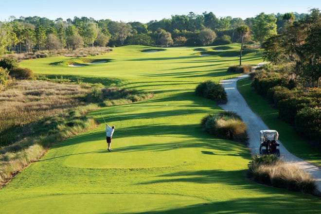 Surrounding Peninsula Treviso Bay is the Arthur Hills designed golf course, part of the PGA TOUR's acclaimed TPC Network of Clubs.