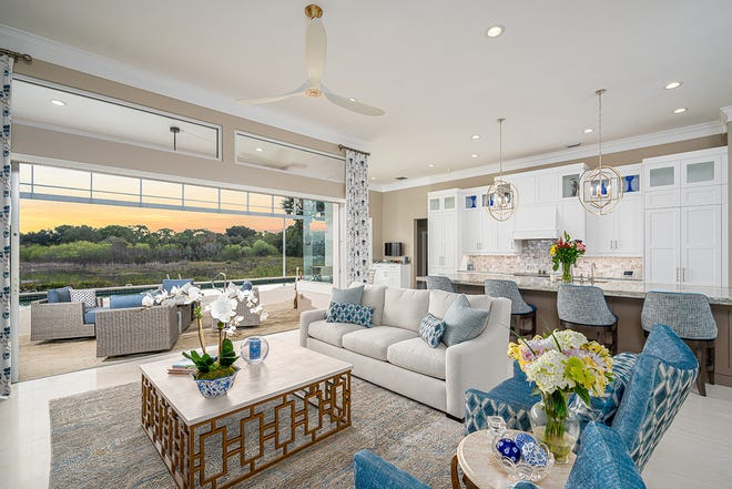Green Mountain Builders recently completed a first floor renovation of this Bonita Bay home located in The Sanctuary.