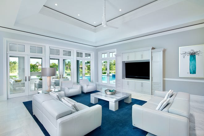 Borelli Construction has announced the record sale of its luxury estate home at The Estuary at Grey Oaks.