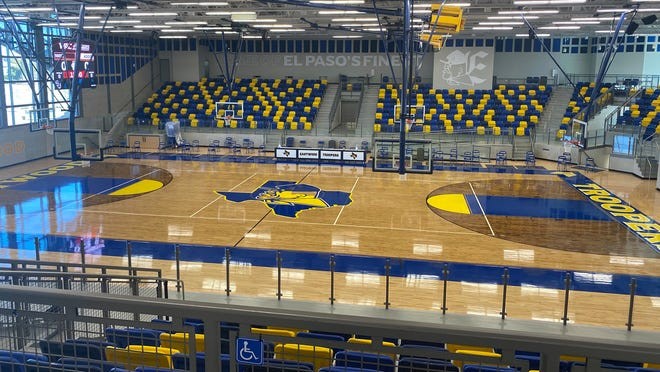 Eastwood High School in El Paso, Texas is the new home site for the New Mexico State men's basketball team this season.