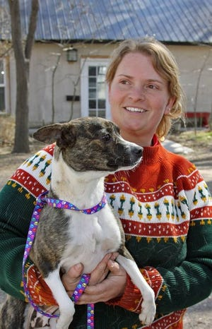 Floss Blackburn of the Denkai Animal Sanctuary in Cortez, Colo., is launching a new animal shelter in Farmington called the New Mexico Animal Welfare League.