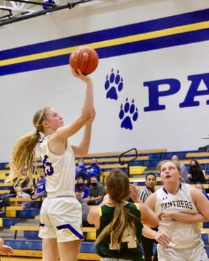 15-year-old Ava Jones, a post from Nickerson, Kansas, committed Monday to Arizona State women's basketball in the class of 2023.
