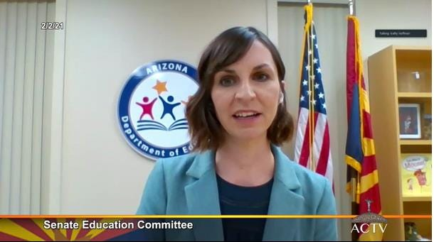 Arizona Schools Superintendent Kathy Hoffman's annual state of education speech focused on the unprecedented challenges facing students, educators and parents through the pandemic.
