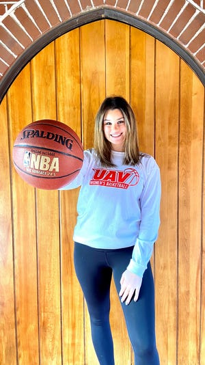 Tulare Union High School senior Lindsey Beck has signed to play college basketball at the University of Antelope Valley in Lancaster.