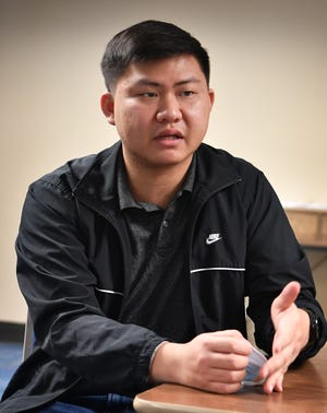 Lan Vo, a Vietnamese immigrant talks about his experiences in moving to the U.S., learning English getting his G.E.D. and enrolling in Vernon College. Lo is studying to be a machinist.