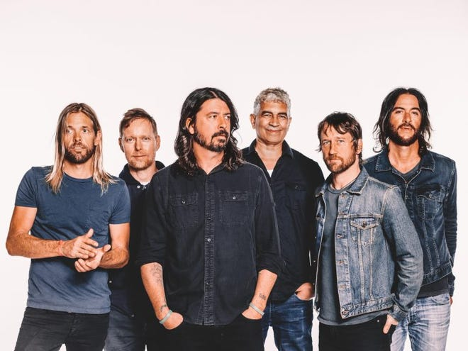 Foo Fighters open their 2021 tour at Andrew J Brady Icon Music Center in July.
