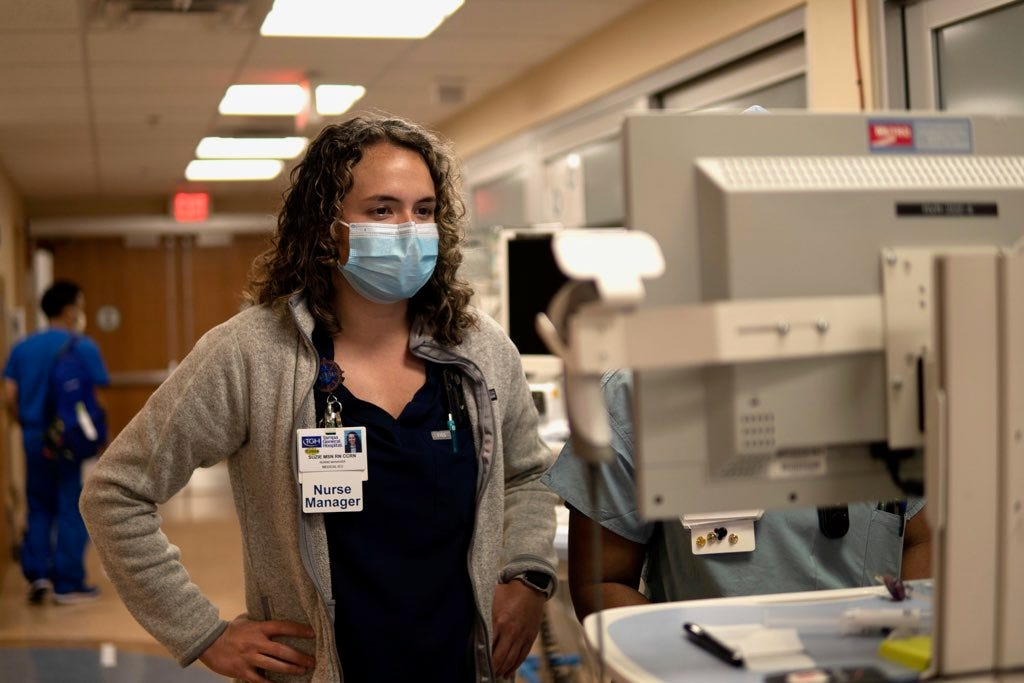 Suzie Dorner is a nurse manager at Tampa General Hospital.